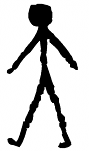 Walking Stick Figure